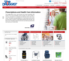 The Druggist RX website history
