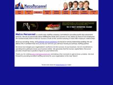 Metro Personnel website history