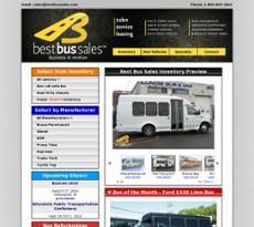 Best Bus Sales website history