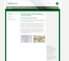 Wade Paper website history