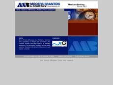 Mooers Branton and Company website history