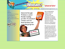 Industrial Strength website history