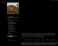 Benchmark Studios website history