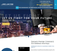 The Orr Law Firm website history