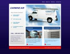 Carmine Air website history