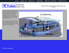 AC Products website history