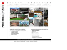Nichols Page Design Associates website history