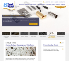 Lewis Spring and Manufacturing website history
