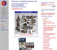 Studebaker Parts website history