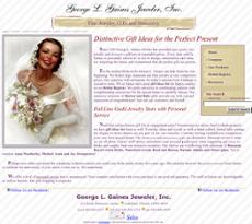 George L. Gaines website history