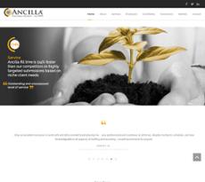 Ancilla website history