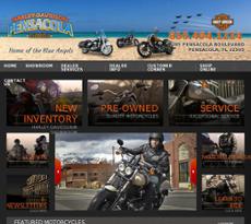 Harley-Davidson website history