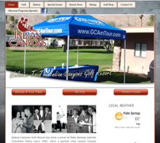 Indian Canyons Golf Resort website history