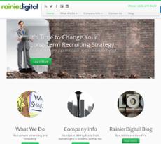 RainierDigital website history