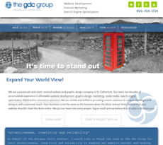 The GDC Group website history