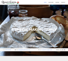 Quality Cheese website history