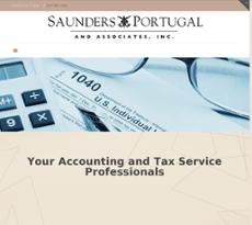 Saunders, Portugal & Associates website history