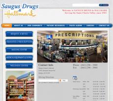 Saugus Drugs Pharmacy website history