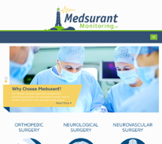 Medsurant Monitoring website history