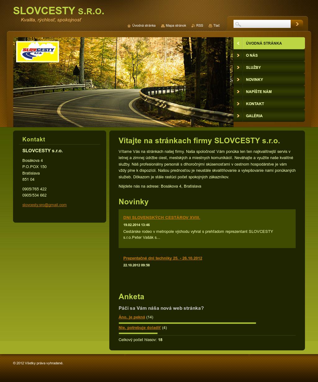 Cesty slovenskom online dating