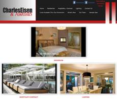 Charles Eisen & Associates website history
