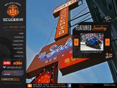 Scuderia website history