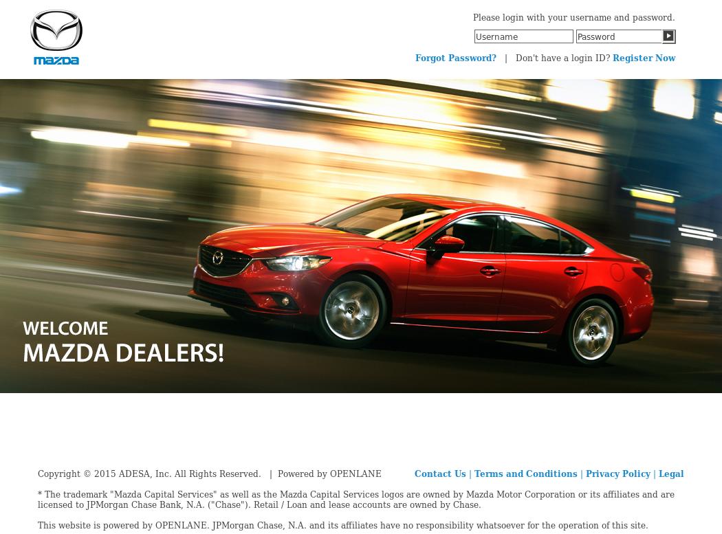 Mazdavehicleremarketing Website History