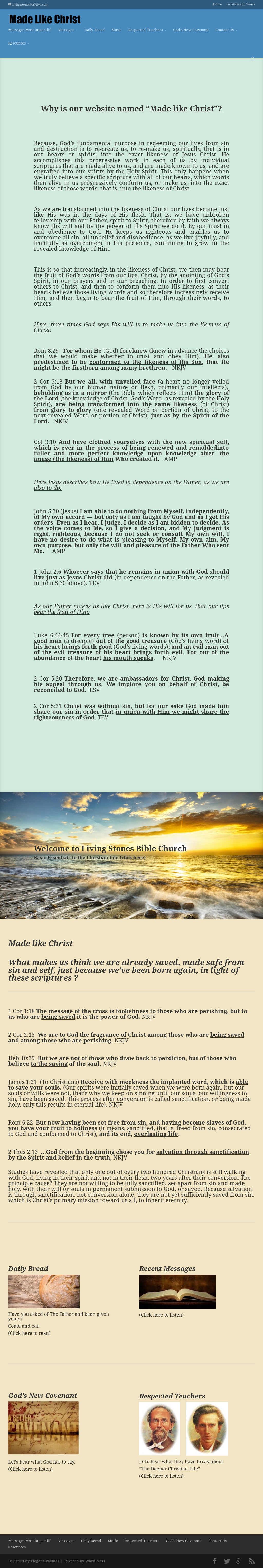 Living Stones Bible Church Competitors, Revenue and