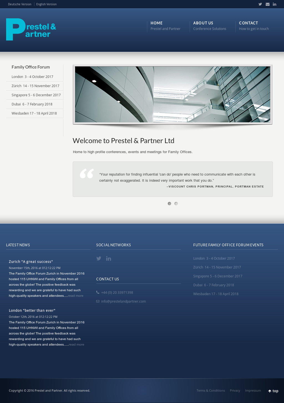 Partner finding website