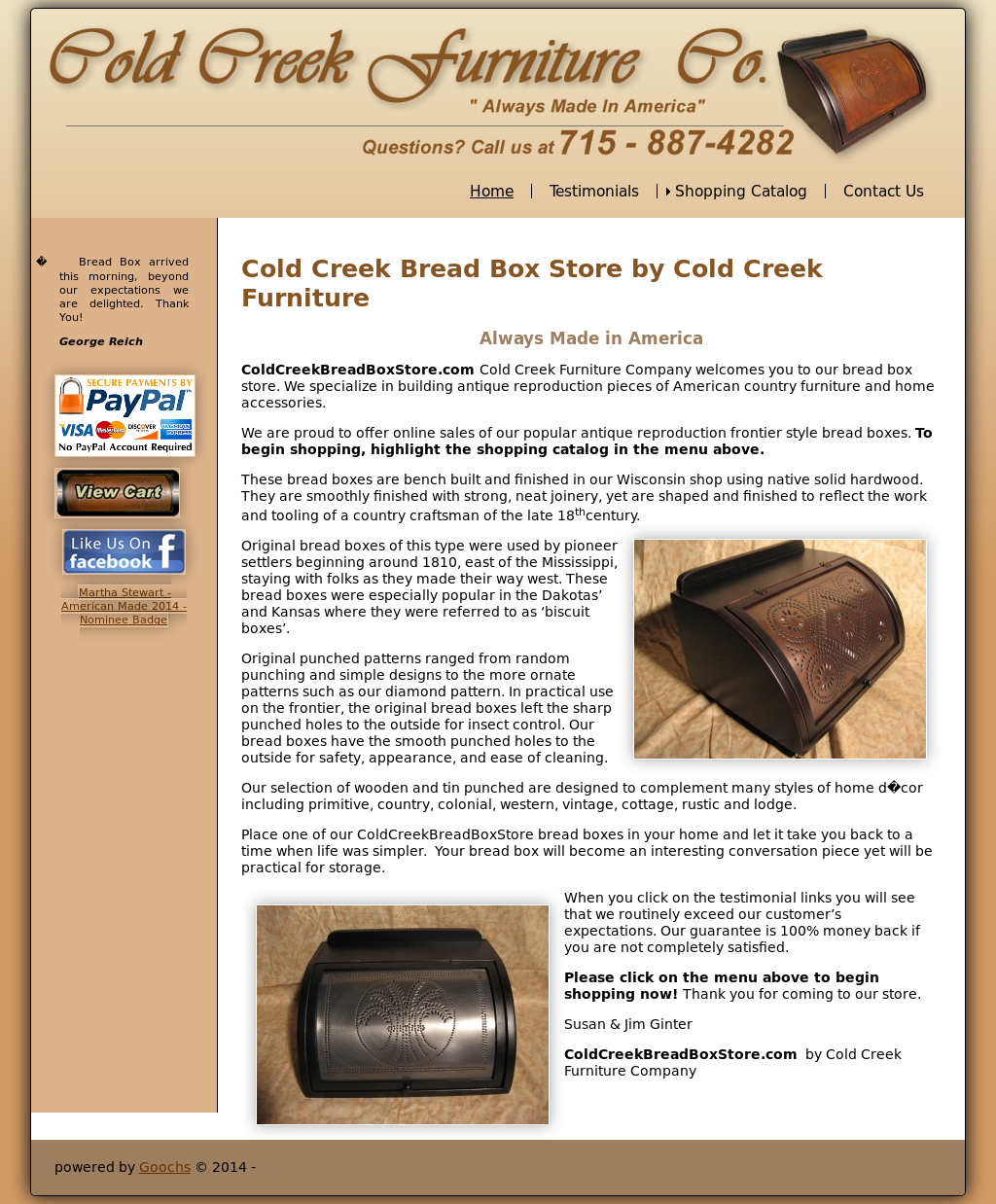 Cold Creek Furniture Company Compeors Revenue And Employees Owler Profile