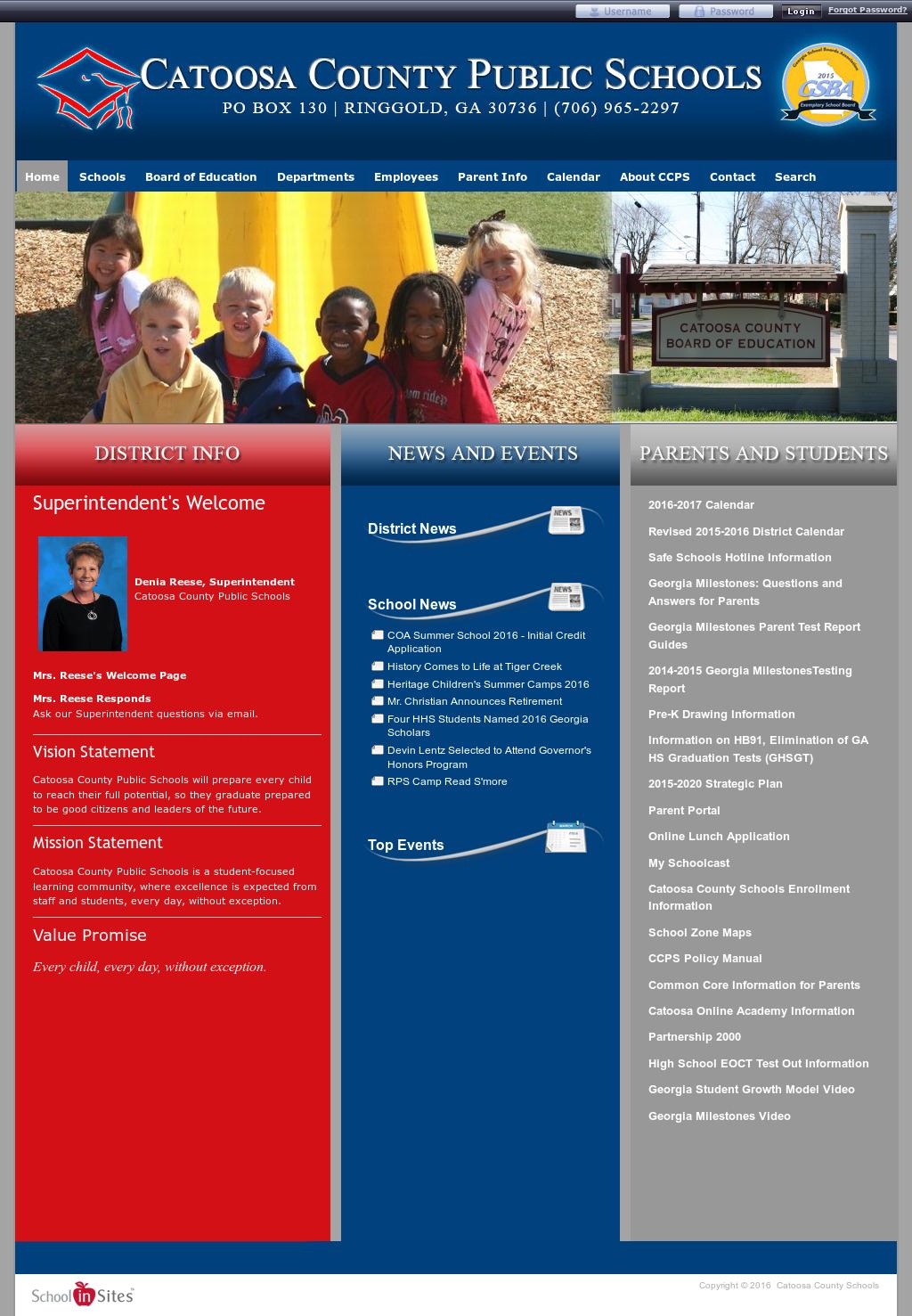 catoosa county school calendar