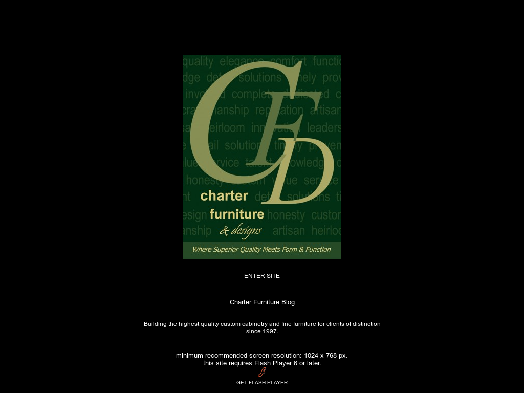 Charter Furniture And Designs Website History