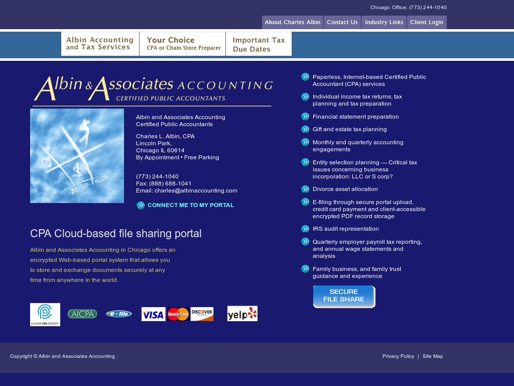 Albin and Associates Accounting Competitors, Revenue and Employees