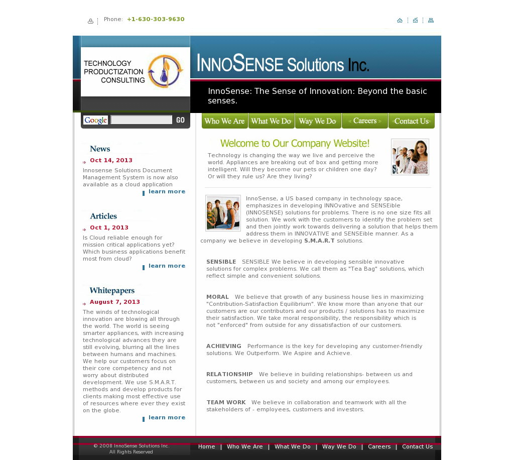 Innosense Solutions Competitors, Revenue and Employees - Owler