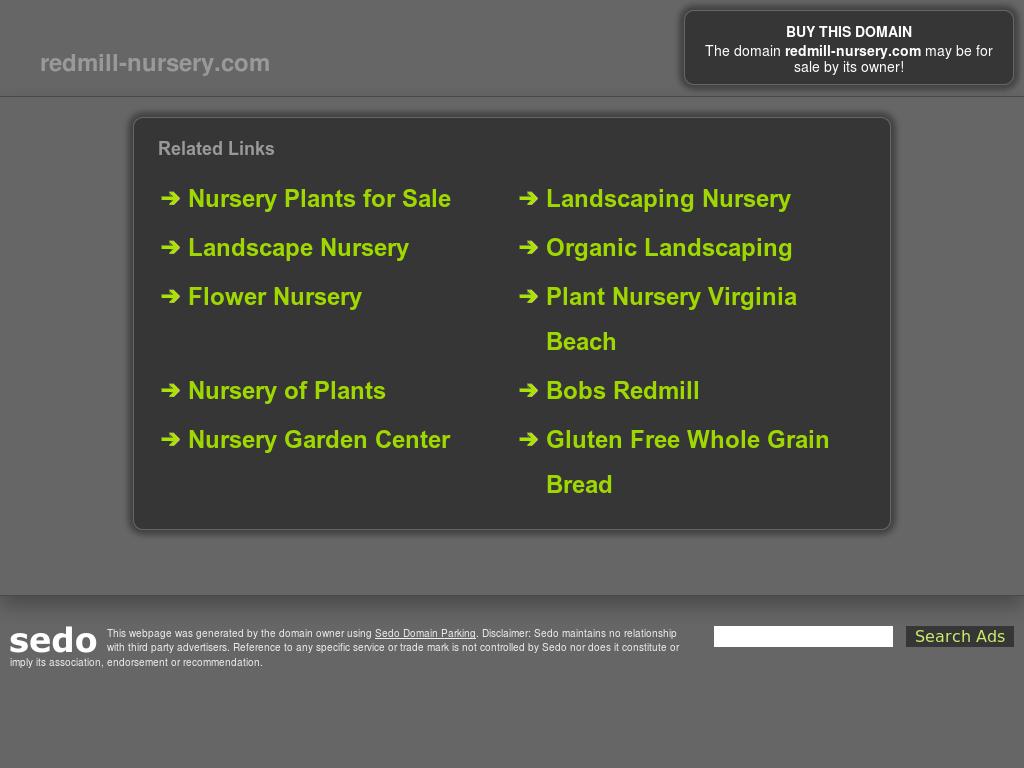 Red Mill Landscape Nursery Website History