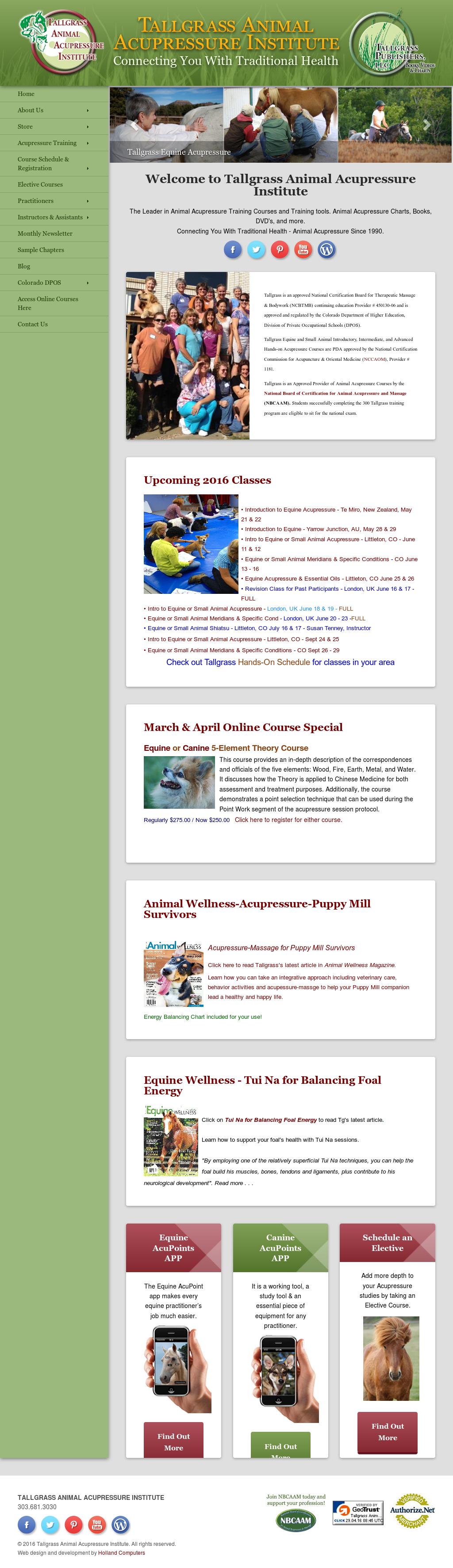 Tallgrass Animal Acupressure Institute Competitors, Revenue