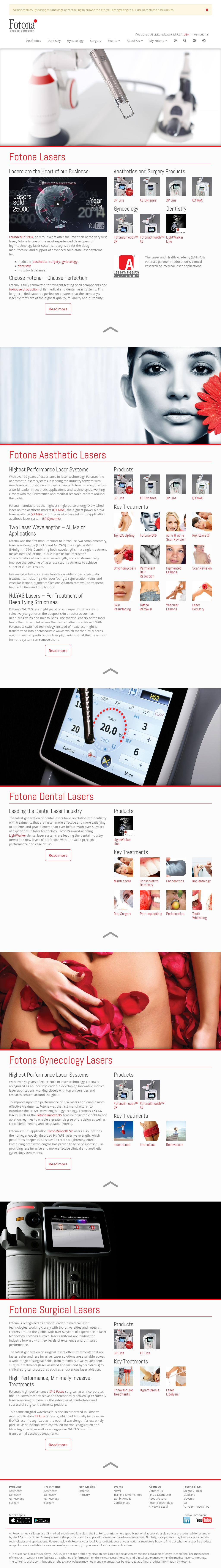 Fotona Competitors, Revenue and Employees - Owler Company