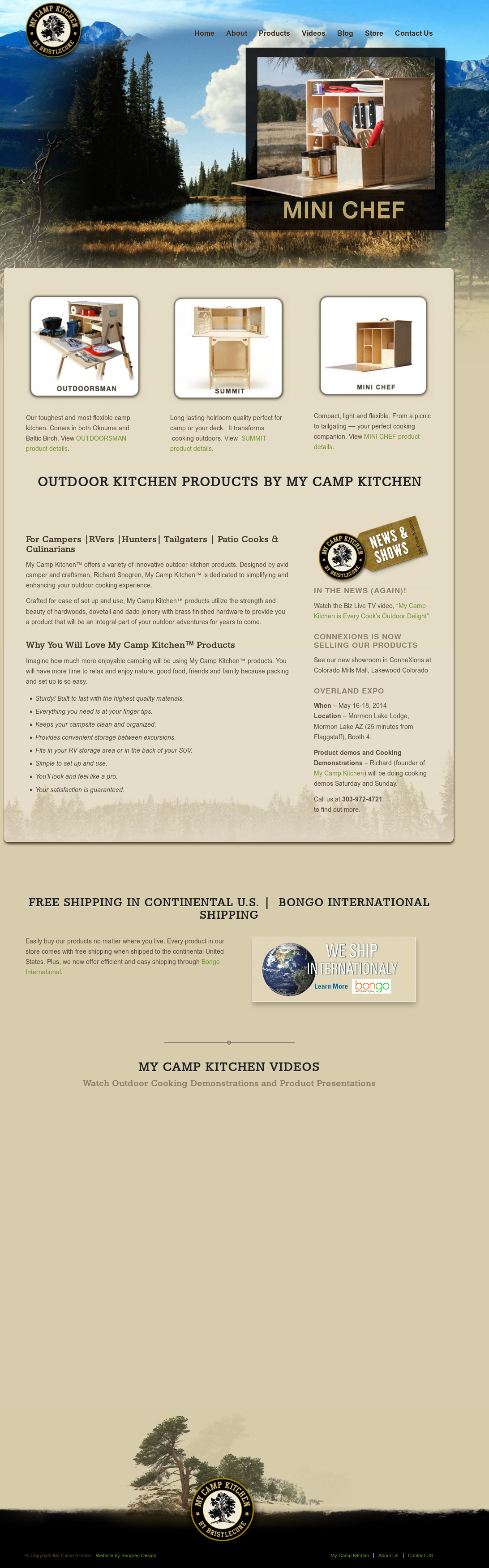 My Camp Kitchen By Bristlecone Competitors, Revenue and ...