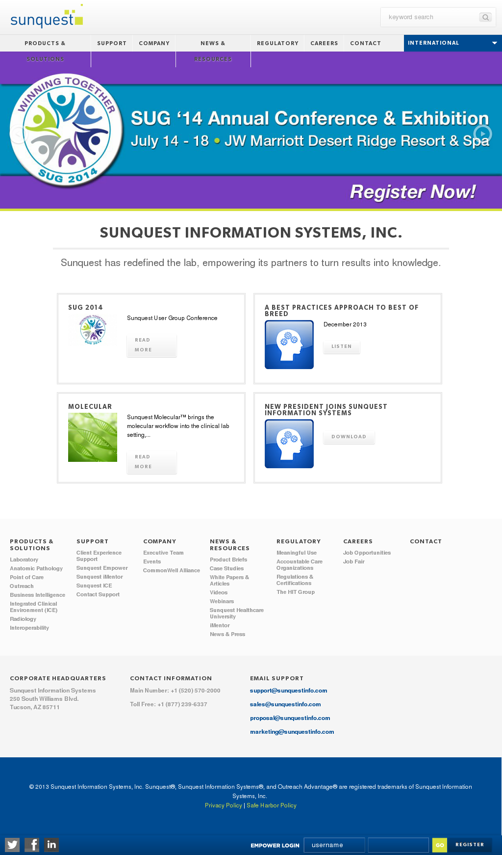 Sunquest Information Systems Competitors, Revenue and Employees - Owler  Company Profile