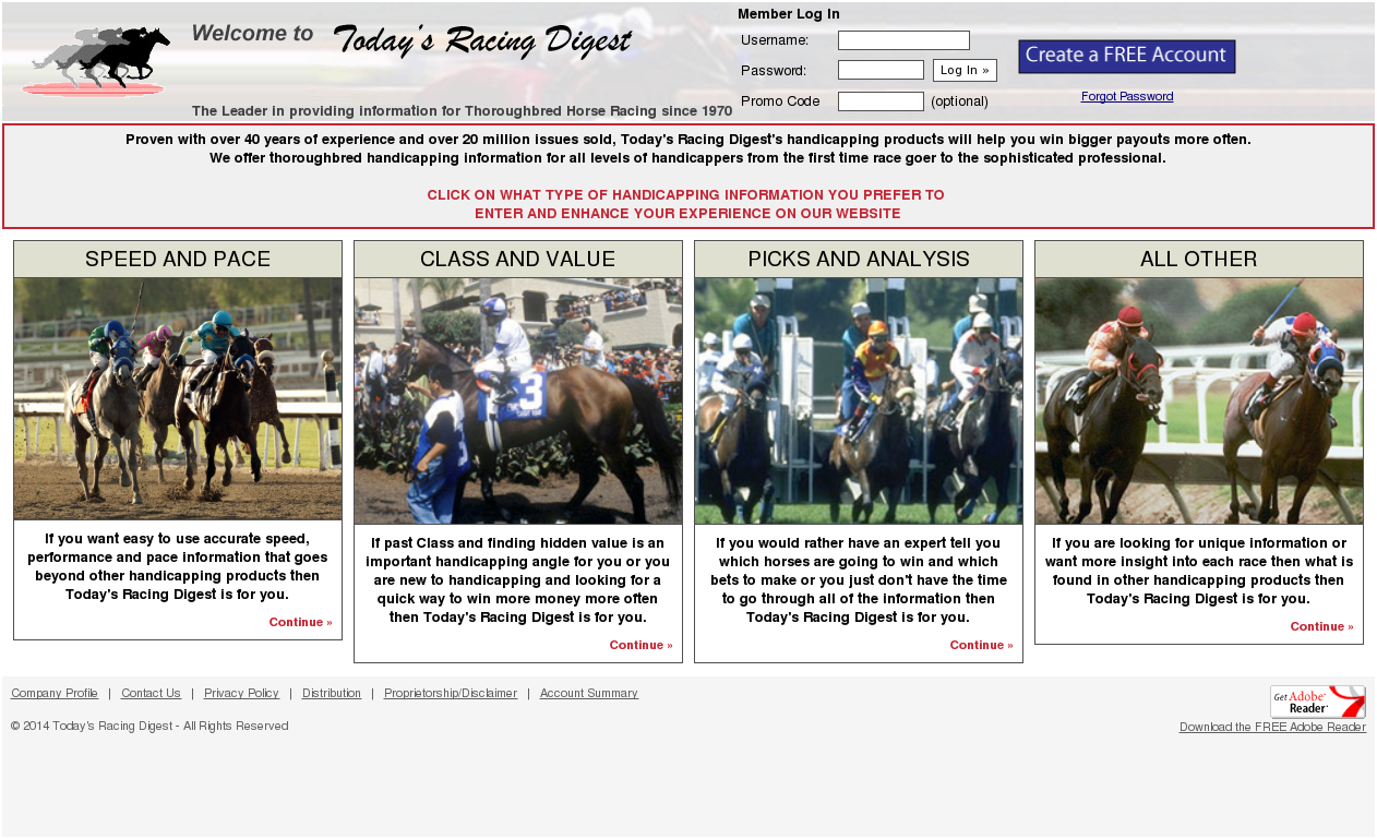 Today's Racing Digest Competitors, Revenue and Employees - Owler