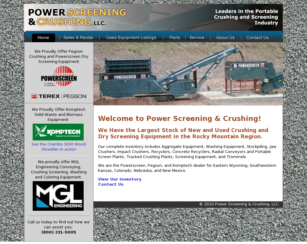 Power Screening & Crushing Competitors, Revenue and Employees