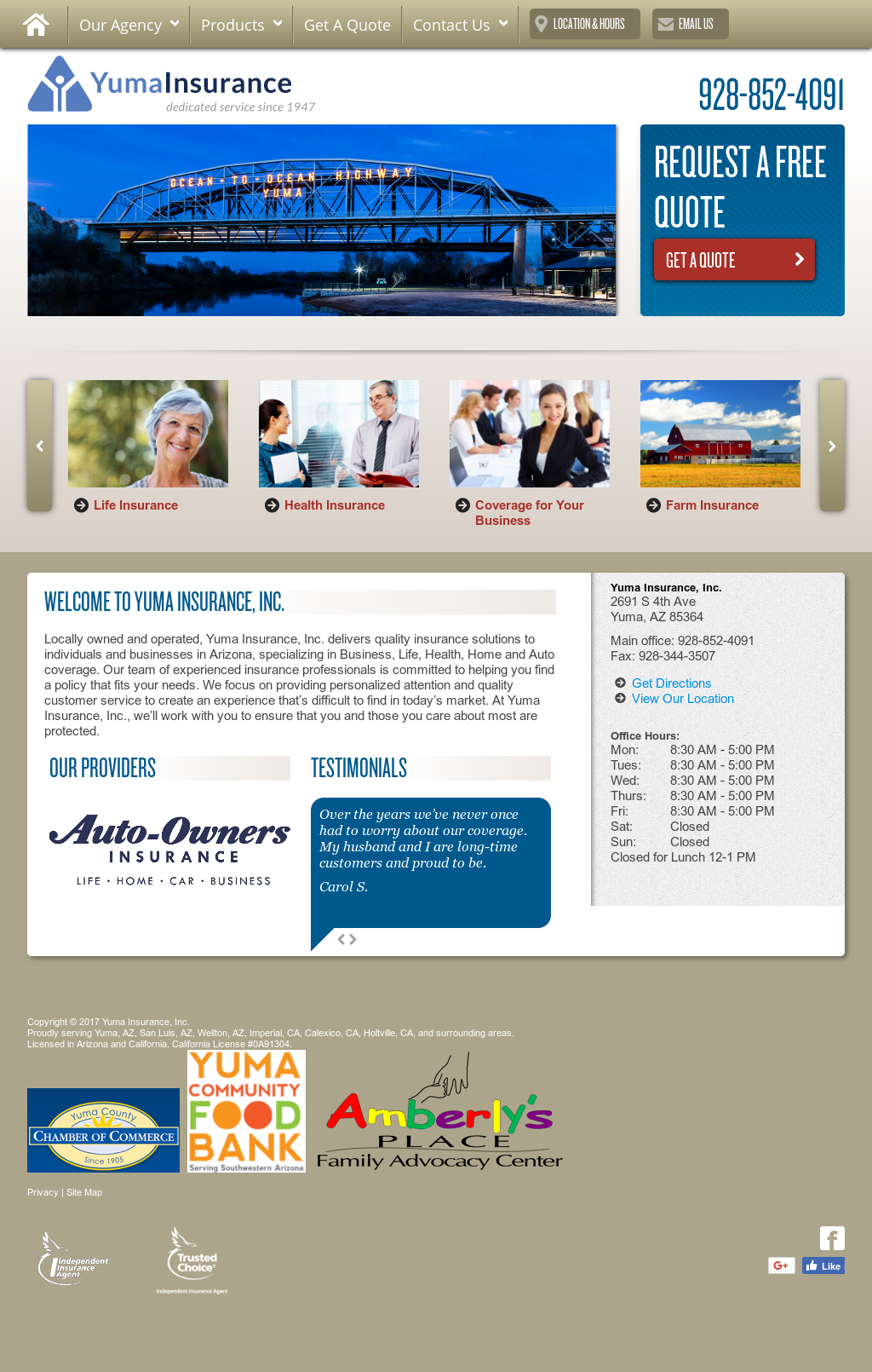 Yuma Insurance Competitors, Revenue and Employees - Owler