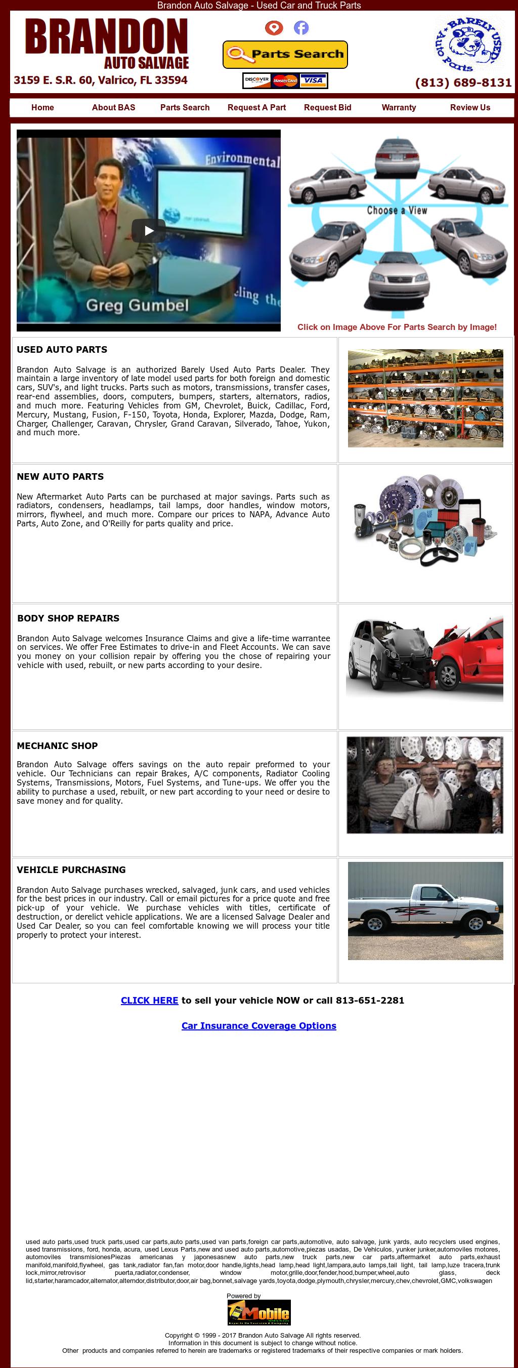 Brandon Auto Salvage Competitors Revenue And Employees Owler