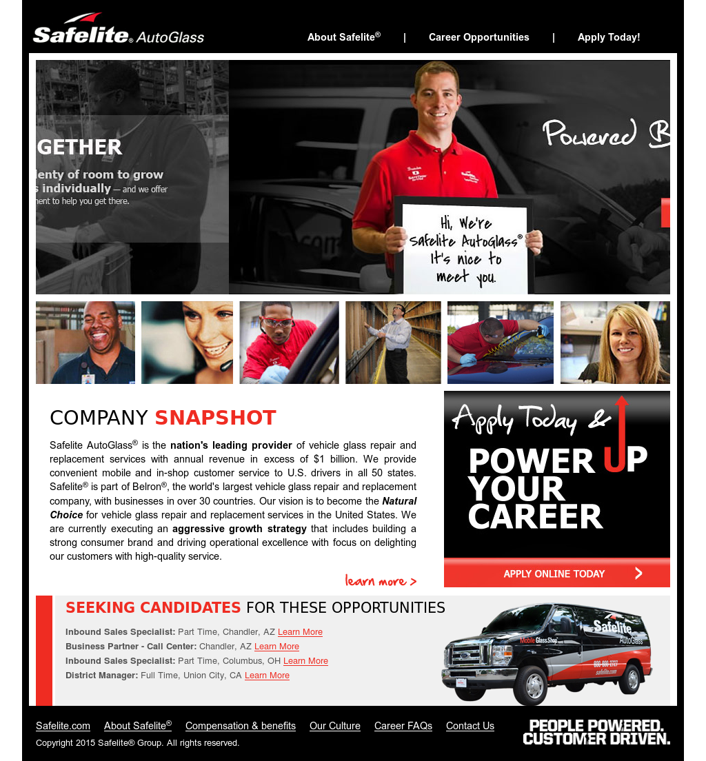 Safelitecareers Competitors Revenue And Employees Owler Company