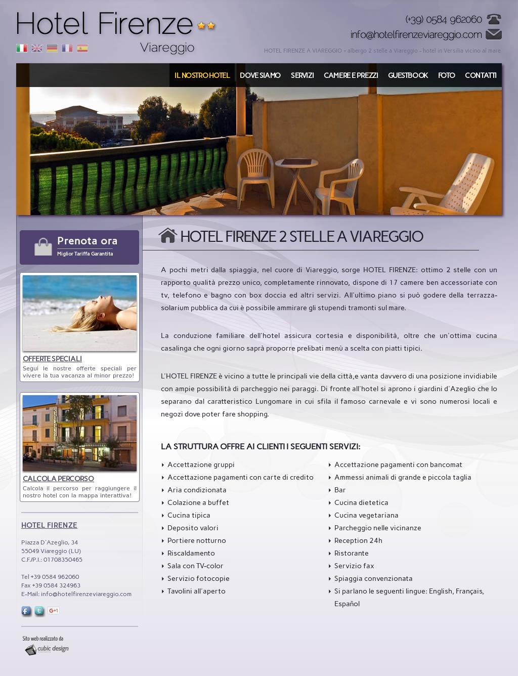 Hotel Firenze Di Luporini E Bonaldi S N C Competitors