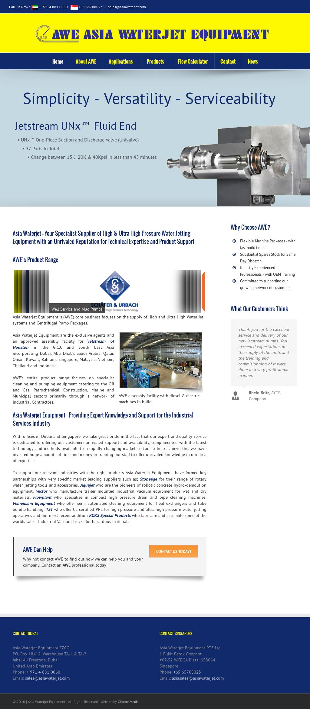 Asia Waterjet Equipment Fzco Competitors, Revenue and Employees