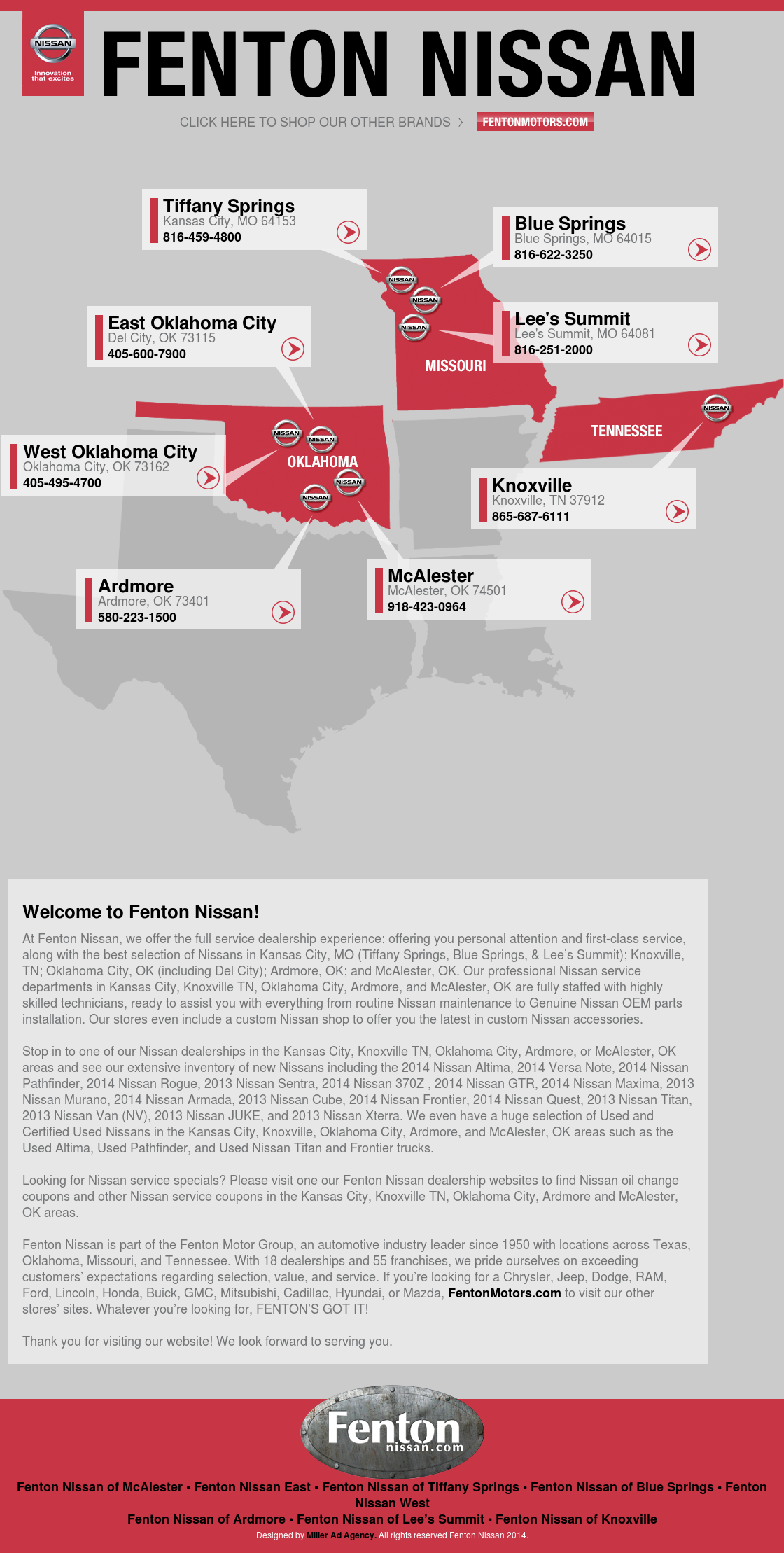 Fenton Nissan East >> Fentonnissan Competitors Revenue And Employees Owler