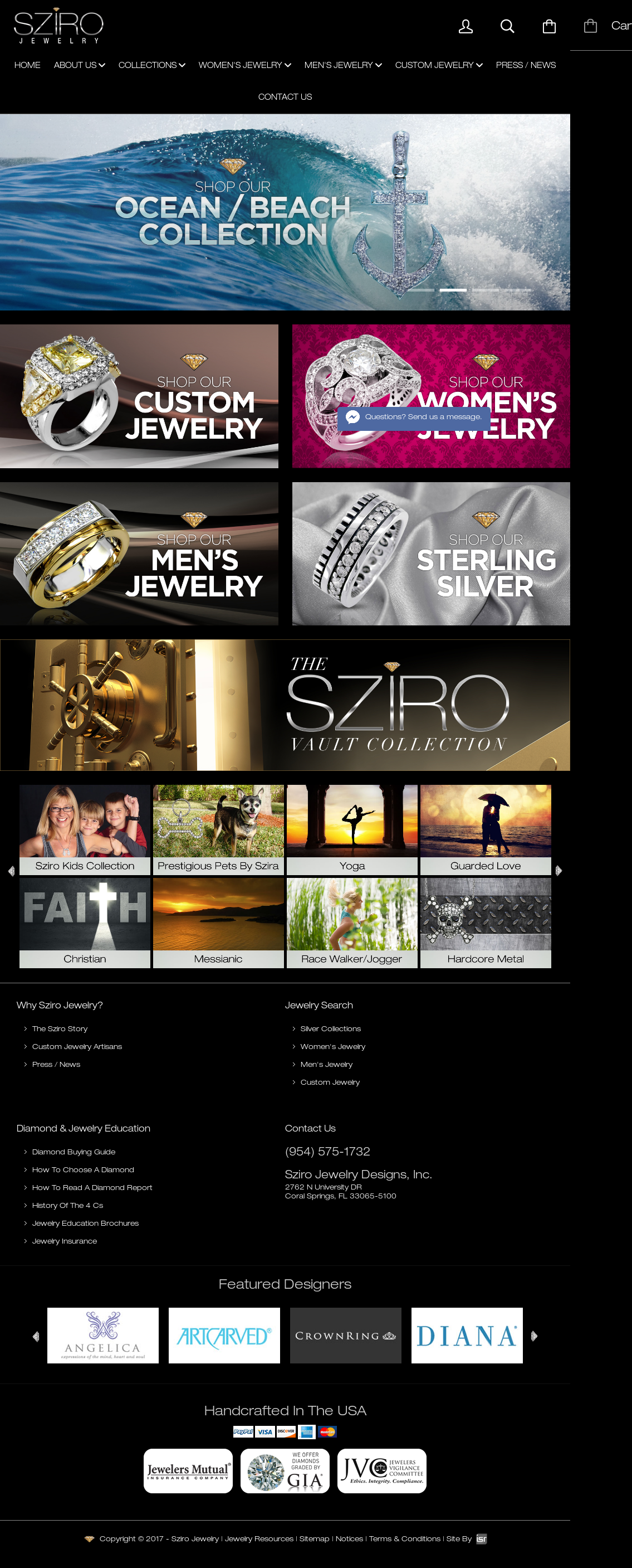 Sziro Jewelry Designs Competitors Revenue and Employees Owler