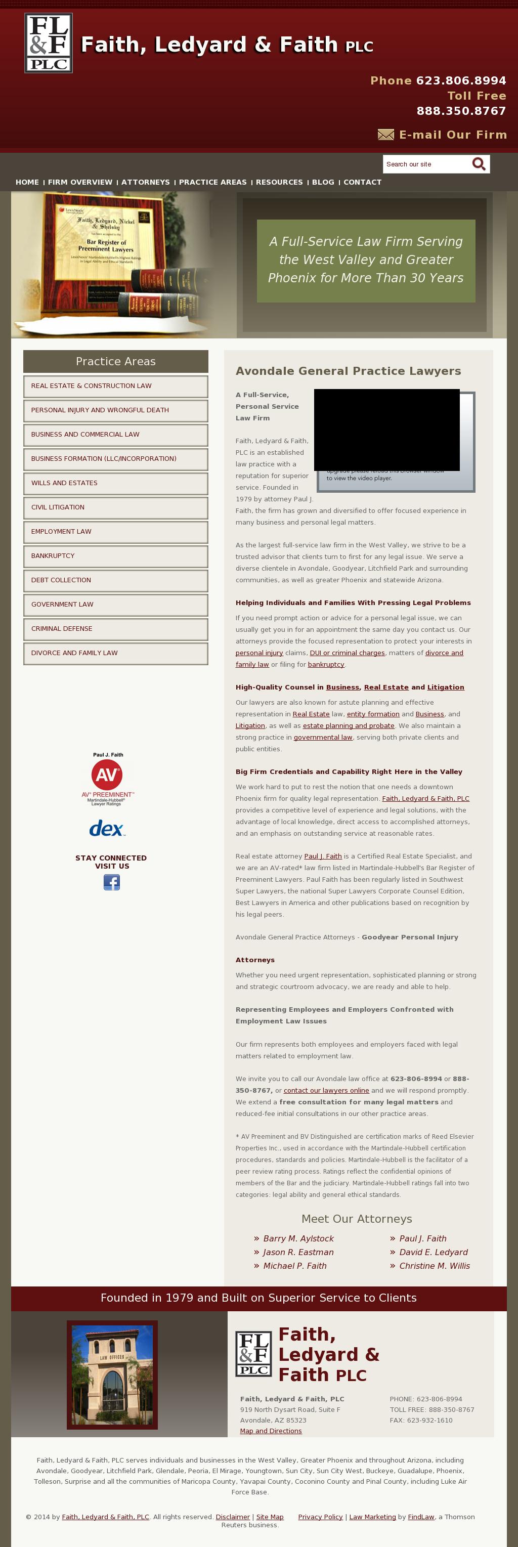 General Practitioner Law Firm Websites ...