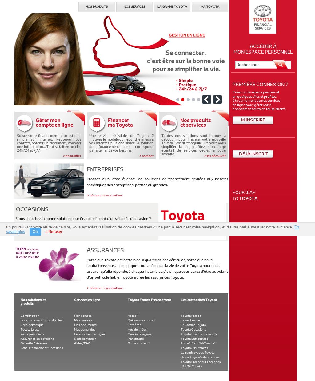 toyota france financement competitors revenue and. Black Bedroom Furniture Sets. Home Design Ideas